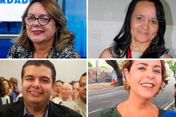 DÚVIDA PERSISTE: De olho nas eleições, Socorro Gadelha, Edilma Freire, Diego Tavares e Daniella Bandeira deixam PMJP