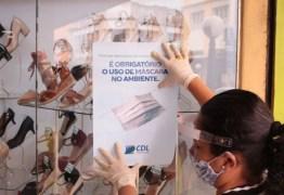 CDL de Campina Grande inicia campanha pelo funcionamento seguro do comércio