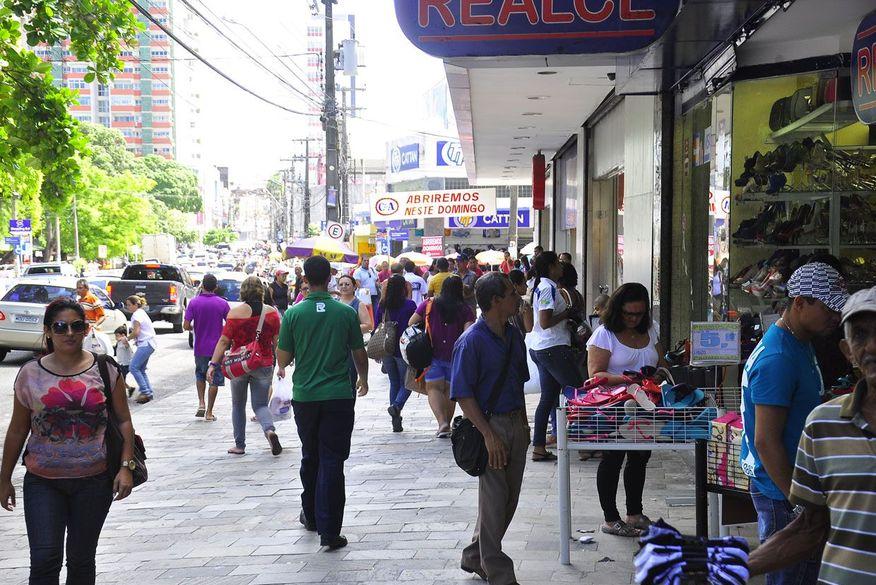 centro de joao pessoa comercio - Flexibilização das atividades econômicas na PB começa nesta segunda-feira