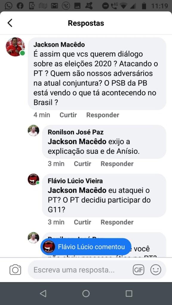 """e59ef78b 1d87 4ebb b849 c74cdfddcb6a 576x1024 - Professor Flávio Lúcio Vieira critica nome de Anísio Maia para a PMJP: Atitude vergonhosa e sabuja, G11 é o """"centrão"""" da Paraíba"""
