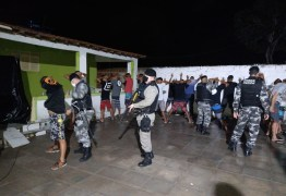 Polícia Militar interrompe festa com aglomeração em João Pessoa
