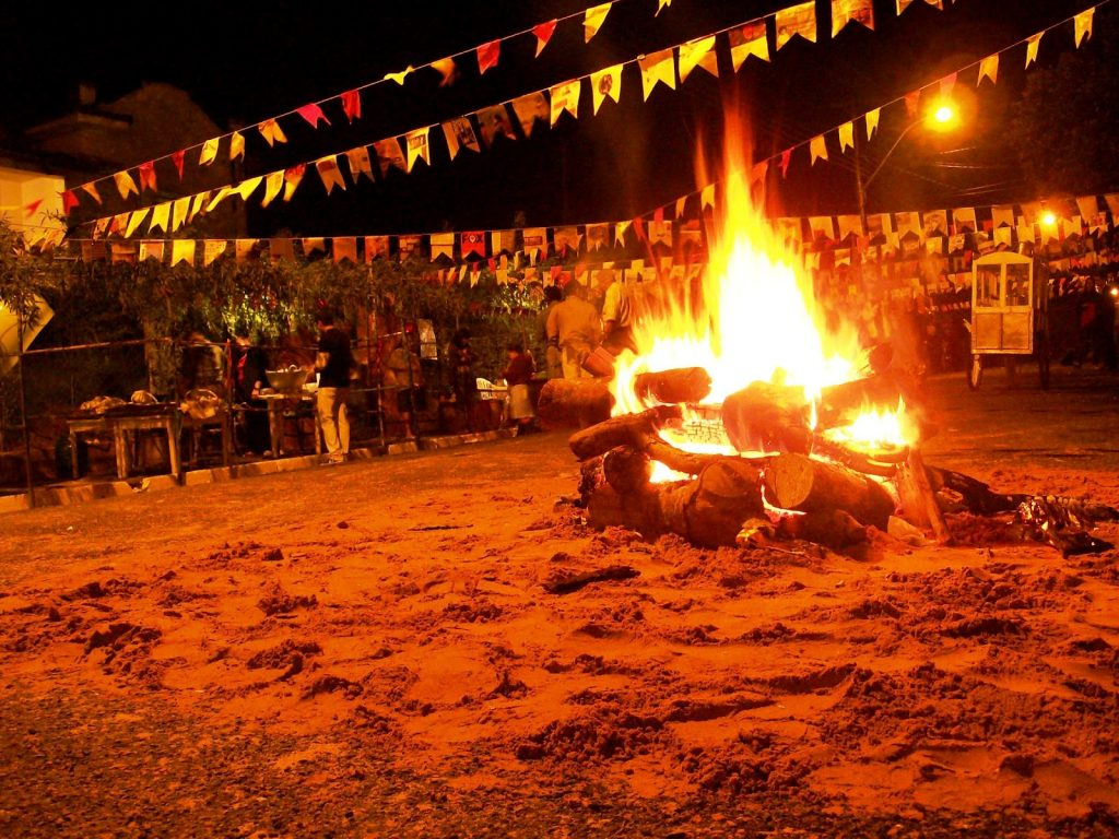 fogueira 1024x768 2 - MPPB recomenda que prefeituras do Brejo proíbam fogueiras juninas e fogos de artifício