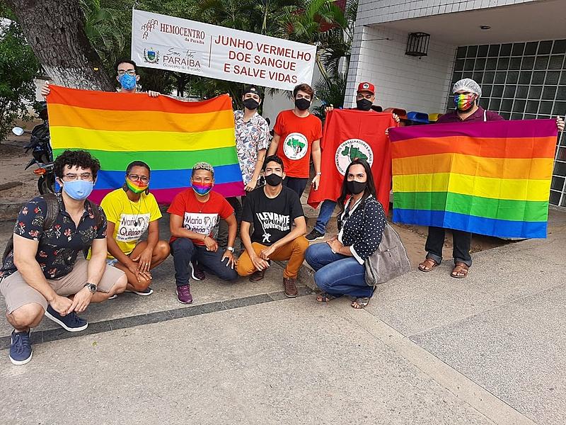 image processing20200629 26197 7b36dv - EM JOÃO PESSOA: LGBTs fazem doação coletiva de sangue para celebrar decisão de inclusão entre doadores
