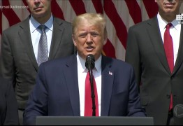 Trump cita Brasil como país com problemas para conter coronavírus