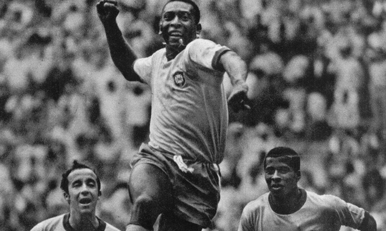 pele copa de 70 acervo cbf - Há 50 anos, o Brasil encantava o mundo ao faturar o tricampeonato