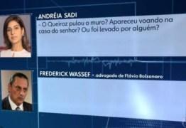 Pergunta de Andréia Sadi a Wassef vira meme: 'Queiroz chegou voando?' – VEJA VÍDEOS