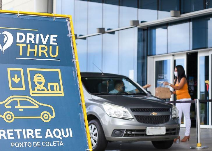 sho - INOVAÇÃO: Manaíra e Mangabeira Shopping reabrem com sistema drive-thru