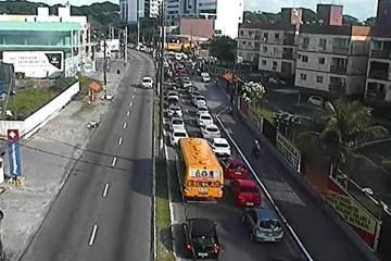 Primeiro dia de fiscalização gera trânsito em regiões de João Pessoa