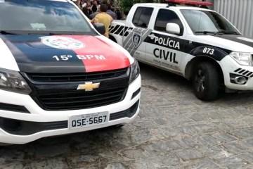 viaturas - Empresário é atingido com seis tiros durante tentativa de assalto, em João Pessoa