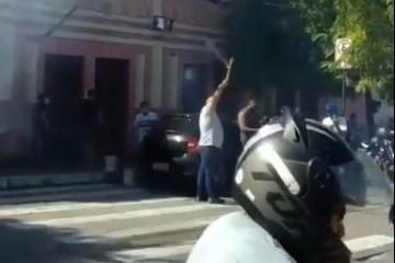 SHOPPING TERCEIRÃO: Comerciantes soltam fogos e comemoram a reabertura em João Pessoa – VEJA VÍDEO