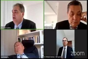 2 - ROTINA DA PANDEMIA: cochilo de procurador em sessão virtual causa debate entre membros da Justiça na Paraíba; VEJA VÍDEOS