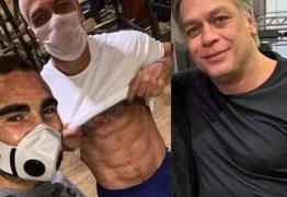 Fábio Assunção impressiona ao exibir corpo sarado na internet