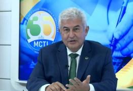 Em live, ministro Marcos Pontes diz estar com o novo coronavírus