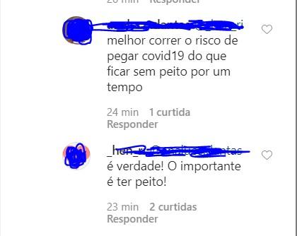 AN - 'Botei meus peito': cantora Eduarda Brasil choca seguidores ao revelar que fez cirurgia plástica