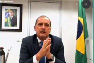DISTÂNCIA: Onyx diz que Bolsonaro deve se manter neutro nas eleições municipais