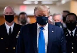 """MUDANDO A POSTURA: Trump afirma que usar máscara é um gesto """"patriótico"""""""