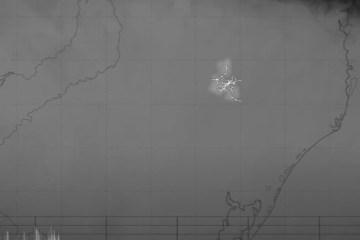 Capturar - Imagens de satélite: maior raio do mundo é registrado no Brasil, com 709 km de extensão - VEJA VÍDEO