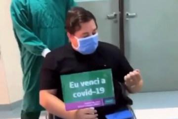 Capturarr - Humorista paraibano Renan da Resenha se recupera da Covid-19 - VEJA VÍDEO