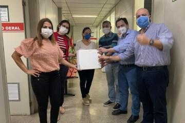 Doação de Kits teste plasma - Unimed JP doa 400 testes para triagem de plasma utilizado no tratamento de covid