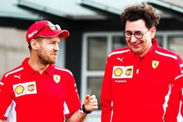 Chefe da Ferrari revela que equipe não renovou contrato com Vettel por causa da pandemia do novo coronavírus