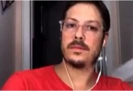 Mulher de Fábio Porchat aparece seminua em live com Guilherme Boulos; VEJA VÍDEO