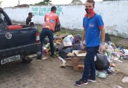 Funcionários de supermercado 'Ki-preço' são flagrados despejando lixo em cemitério de Bayeux