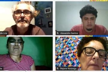 Reunião Cultura - Prefeitura de Conde reúne artistas e ativistas culturais em web conferência sobre a Lei Aldir Blanc
