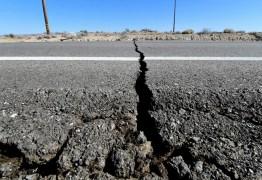 Tremor de terra de 2,5 graus é registrado na Grande Fortaleza