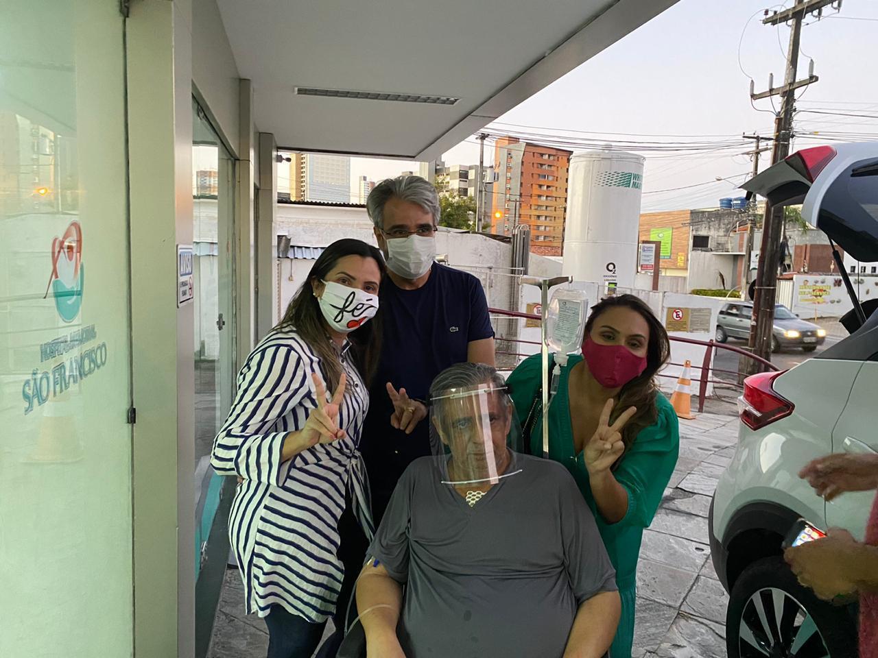 WhatsApp Image 2020 07 02 at 11.22.01 - Deputado Edmilson Soares recebe alta e já está em casa
