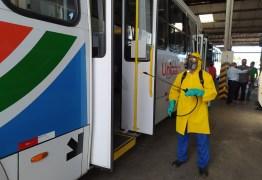 60% DA FROTA: ônibus voltam a circular na próxima segunda-feira em João Pessoa