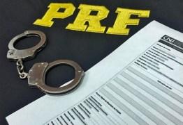 Foragido da justiça de alta periculosidade é preso pela PRF na Paraíba