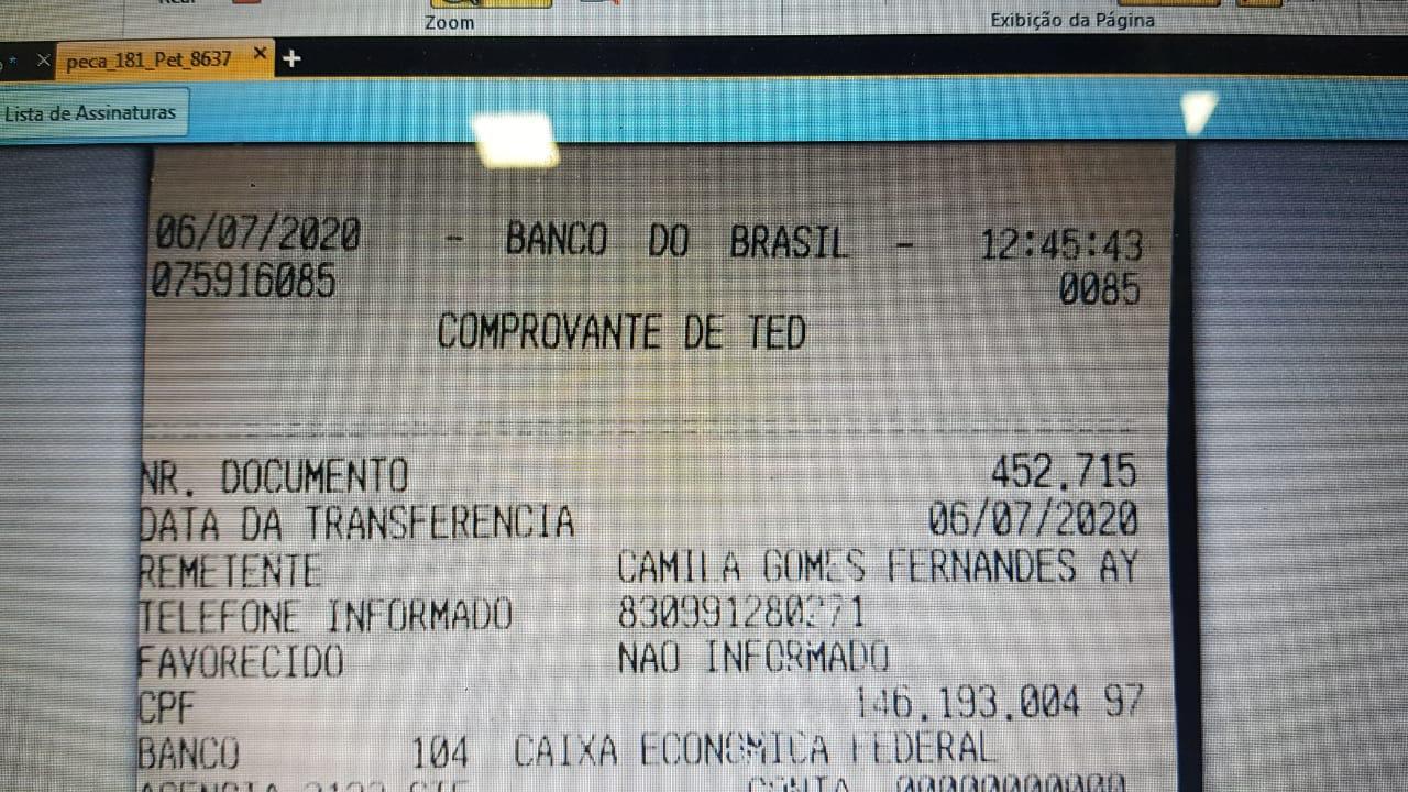 WhatsApp Image 2020 07 06 at 16.25.25 - 195 DIAS PRESOS: prefeito João Bosco Fernandes paga fiança de R$ 522 mil como condição para deixar prisão