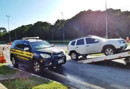 Dupla é presa pela PRF na Paraíba após roubar veículo em João Pessoa