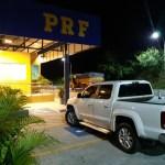 WhatsApp Image 2020 07 15 at 15.27.37 1 - Caminhonete roubada há uma semana em Pernambuco foi recuperada pela PRF na Paraíba