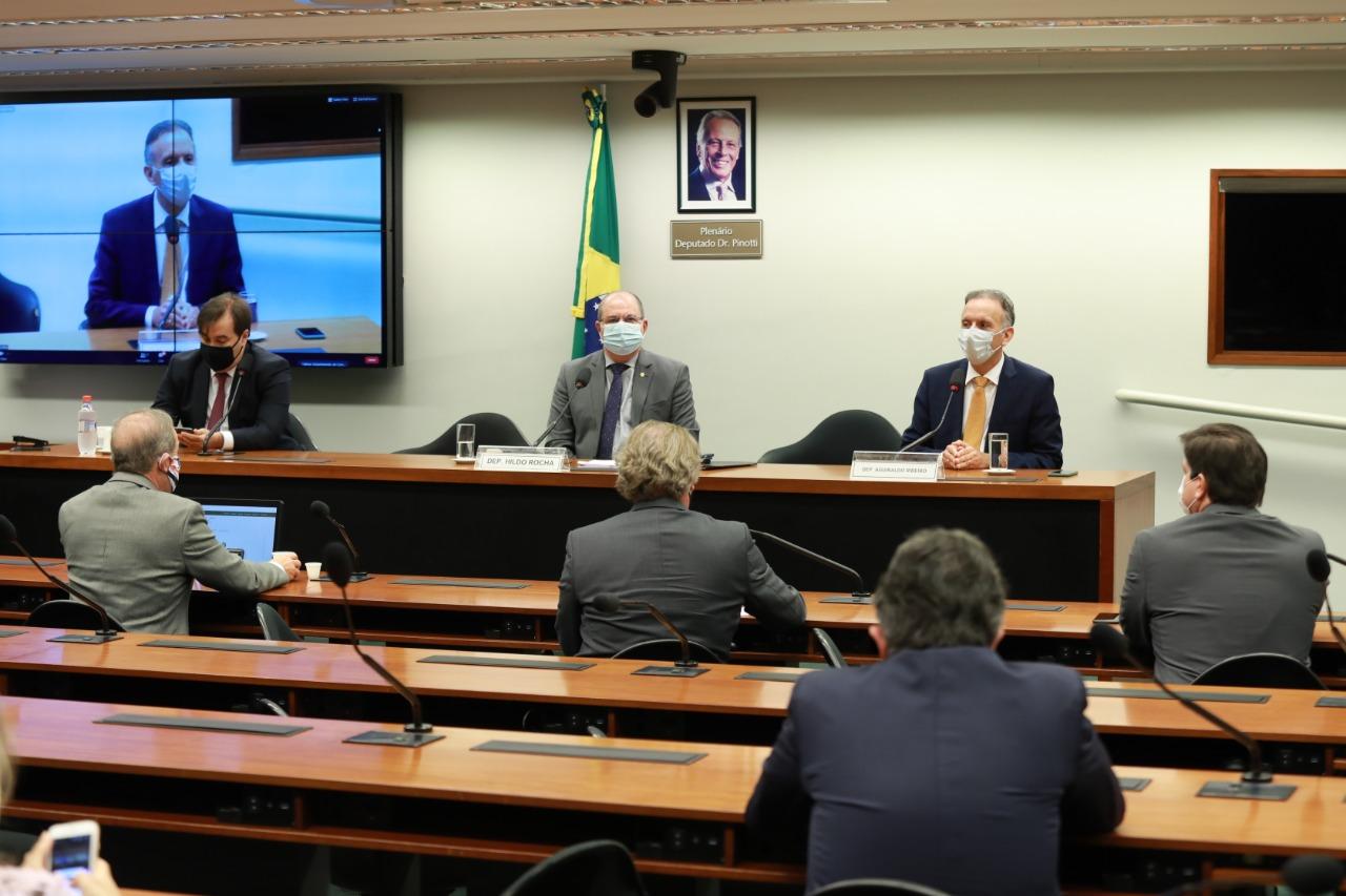WhatsApp Image 2020 07 16 at 15.55.00 - REFORMA TRIBUTÁRIA: Aguinaldo Ribeiro ressalta 'confiança' em amplo debate na Comissão