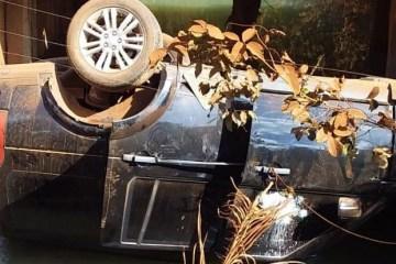 acidente filhos leonardo e1593652500296 620x450 1 - Filhos do cantor Leonardo sofrem acidente de carro; veículo capota e cai em rio - VEJA VÍDEO