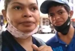 Mãe que emocionou ao dar celular para o filho muda de vida após reportagem