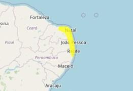 Inmet emite alerta de acumulado de chuva para João Pessoa e outras 33 cidades da Paraíba