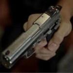 arma - Homem é baleado e mulher atingida por bala perdida em tentativa de homicídio, em JP