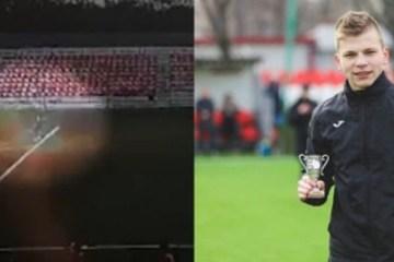 c57cf743bb10afb0f778f93addc21051 - Goleiro russo é atingido por raio durante treinamento e vídeo mostra o momento exato