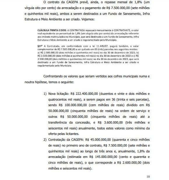 cagepa - POLÊMICA NA ÁGUA DE CAMPINA: Ação na justiça acusa Romero de cancelar licitação e acertar com a Cagepa causando prejuízo de 45 milhões - VEJA DOCUMENTOS