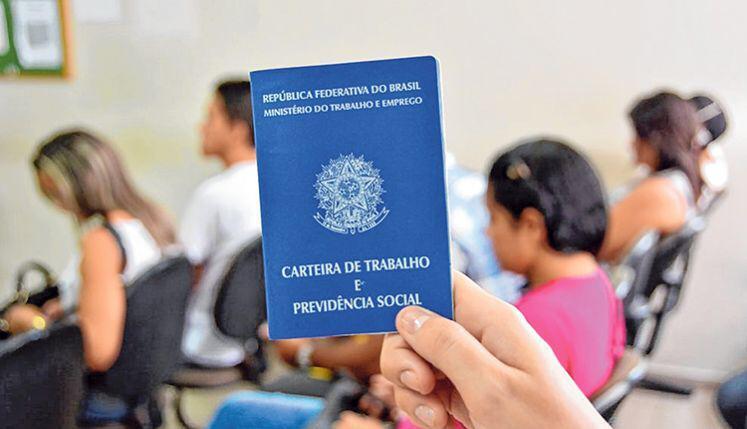 carteira de trabalho 2 - João Pessoa tem 73 vagas de trabalho a partir desta terça-feira (8)