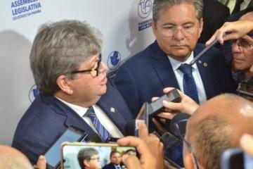 galdino e joão - Adriano Galdino destaca importância de pacote de obras anunciadas pelo governador João Azevêdo durante pandemia