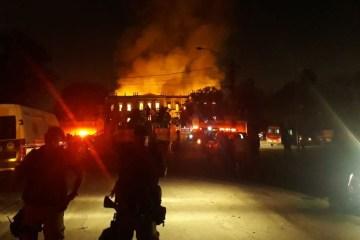 incendio museu nacional - Incêndio no Museu Nacional não foi criminoso, aponta Polícia Federal