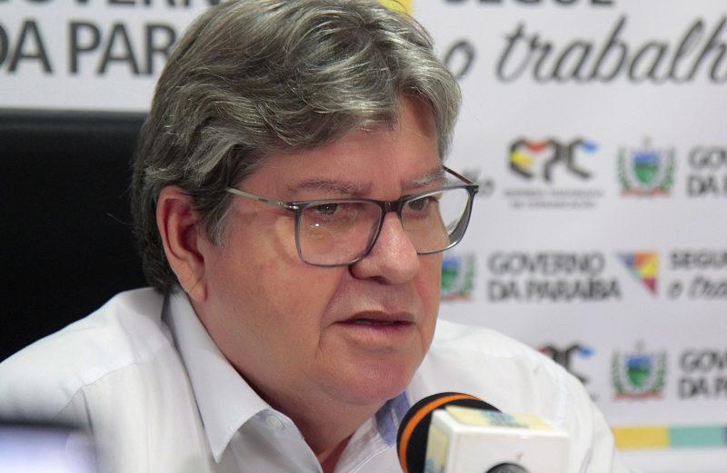 joao fala governador foto jose marques 7 e1548705836144 - João Azevêdo estuda pagamento de décimo terceiro para algumas secretarias neste mês de julho