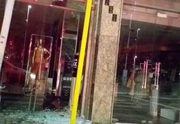 Loja é arrombada duas vezes no Centro de João Pessoa em menos de uma semana