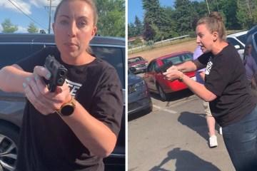 michigan - Mulher branca aponta arma e ameaça família negra nos EUA