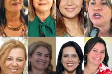 mulheres 1 - PODER FEMININO: 8 mulheres do Vale do Mamanguape concorrem as eleições para prefeituras em 2020