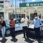 novos veiculos s j piranhas - Com carreata, prefeito Chico Mendes entrega 15 novos veículos em São José de Piranhas