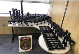 MERCADO DAS ARMAS: Polícia Federal deflagra operação contra tráfico internacional de armas em oito estados